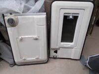 SEITZ EXTERIOR CARAVAN DOOR AND FRAME