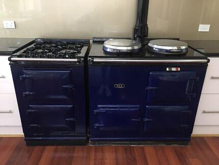 AGA Natural Gas Oven - Royal Blue