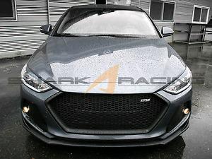 2017 Hyundai Elantra aftermarket grille - shark racing