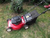 Mountfield lazer petrol lawnmower with honda engine.