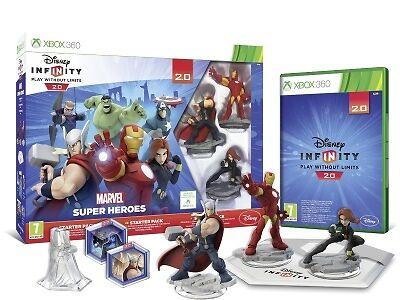 Disney Infinity 2.0: Marvel Superheroes Starter Pack