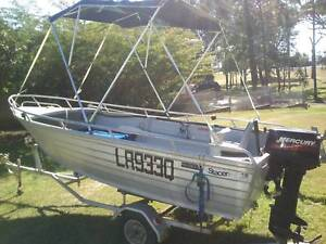 Stacer Seahorse Alloy-Craft,4.0m,30hp Mercury, High Sided Tinny, Point Vernon Fraser Coast Preview