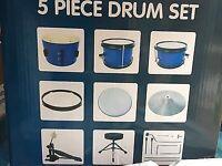 5 piece junior drum set