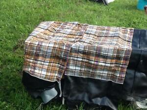 NEW saddle blanket-style truck bench seat cover Prince George British Columbia image 1