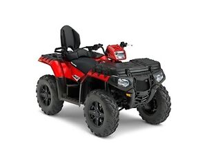 NEW 2017 Polaris Sportsman Touring 850 SP Sunset Red ONLY $11,50