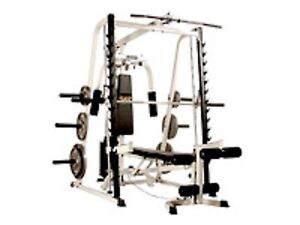 Smith machine Half rack cable high low pulley pec dec