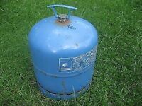 Campingaz 907 cylinders. Gas bottles half full & empty available