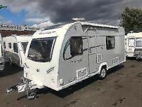 (1) 2014 BAILEY PURSUIT 430/4 *FIXED BED* SINGLE AXLE 4 BERTH TOURING CARAVAN