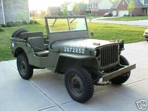 *NEW PICS ADDED* 1945 Ford WWII Jeep Pickup Truck