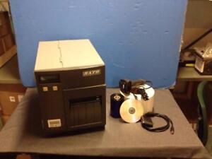 Imprimante a étiquettes Sato CL-408, Avec ''kit de départ'' (413)