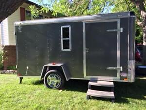 2013 Atlas Action Multipurpose enclosed trailer