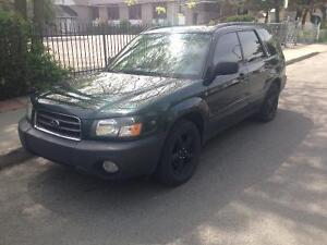 2003 Subaru Forester VUS
