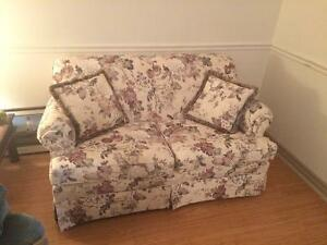 Barely used loveseat couch