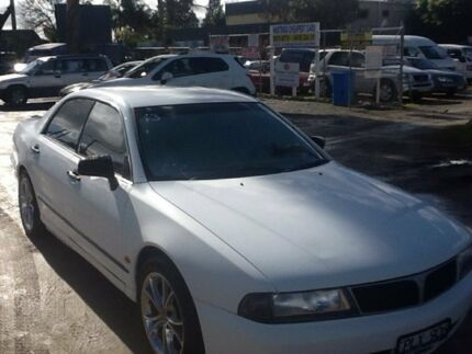 1999 Mitsubishi Magna TF Executive White 4 Speed Automatic Sedan