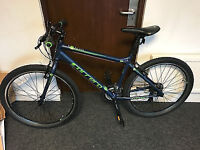 "Carrera Hybrid bike 18"" Frame suit height 5'5-5'10. Lovely condition"
