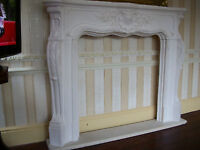 NEW,ORNATE LOUIS PLASTER FIRE SURROUND..LEEDS..