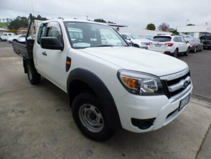 2011 Ford Ranger PK XL (4x2) White 5 Speed Manual Super C/Chas