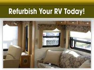 Refurbish Your RV, Camper or Travel Trailer