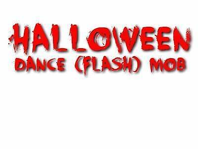 Wanted: Halloween Dance (Flash) Mob at Manly