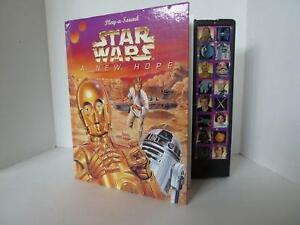 """COLLECTIBLE! Star Wars """"A New Hope"""" Sound Book"""