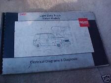 1989 GMC Light Truck Safari Wiring Diagrams+Diagnosis   eBay