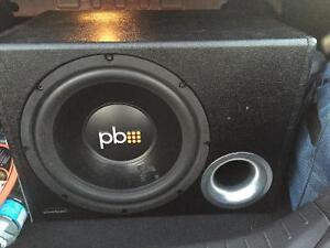 PowerBass sub woofer and Blues amp $250!!!