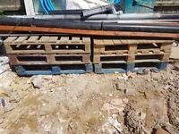 Free Wooden pallets in Corby