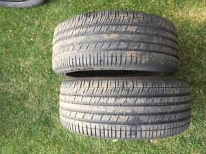 2 Goodyear RS-A - 215/45/17 - 60% - $50 For Both