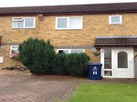 3 bed partly furnished, for long term rent, in Greater Leys 1300 pcm+one months