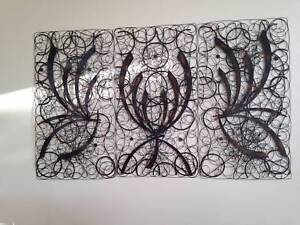 METAL WALL ART - TRYPTCH - THREE PANELS Brighton Bayside Area Preview
