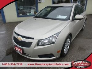 2014 Chevrolet Cruze 'GREAT VALUE' POWER EQUIPPED LT MODEL 5 PAS