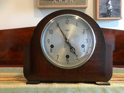 1950's Smiths Enfield 8 day Westminster chime mantle