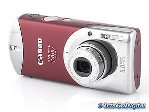 Canon IXUS i Zoom Digital Camera - super compact, smallest, tiny