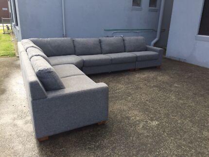 6 seater modular sofa lounge