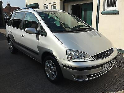 2005 55 Ford Galaxy 1.9TDi ZETEC ( 115ps ) 7 SEATER, PRIVACY GLASS, A/C, CD, MOT SEPTEMBER 2017