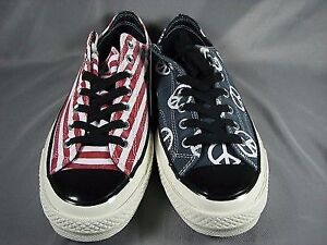 Brand new Converse All Star 1970 Peace Flag shoes