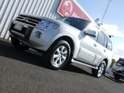 2010 Mitsubishi Pajero NT MY10 Platinum White 5 Speed Sports Automatic Wagon