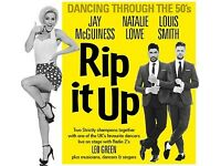 Tickets for Rip It Up Nottingham Royal Concert Hall 7.10.17