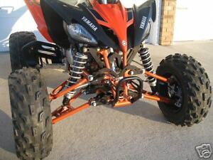 Yamaha Raptor 250 A-arms & Shocks Widening Kit (+4.5 or +6 Inches Wider)