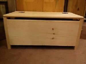 Un-Finished Toy Chest