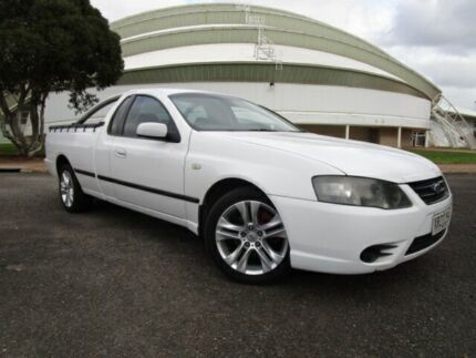 2008 Ford Falcon BF MkII XL (LPG) Winter White 4 Speed Auto Seq Sportshift Cab Chassis Gepps Cross Port Adelaide Area Preview