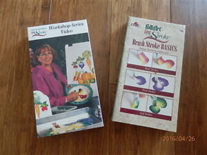 Donna Dewberry VHS tapes