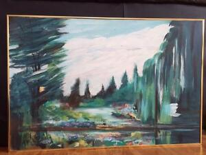 Micheal Reid painting signed by artist  original