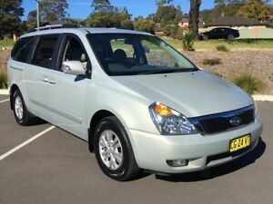 2012 Kia Grand Carnival VQ MY12 SI Silver 6 Speed Automatic Wagon Lisarow Gosford Area Preview