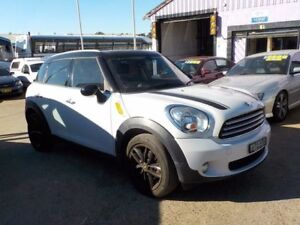 2011 Mini Countryman R60 Cooper D White 6 Speed Sports Automatic Wagon North St Marys Penrith Area Preview