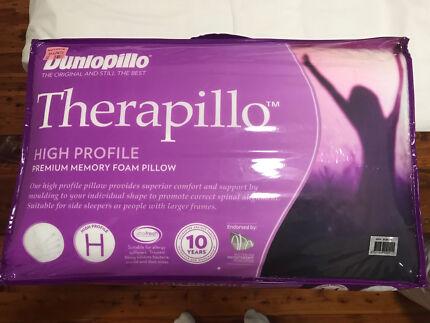 """Dunlopillo Therapillo Premium Memory Foam """"High Profile"""""""