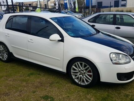 2006 Volkswagen Golf V MY07 GTi White 6 Speed Manual Hatchback