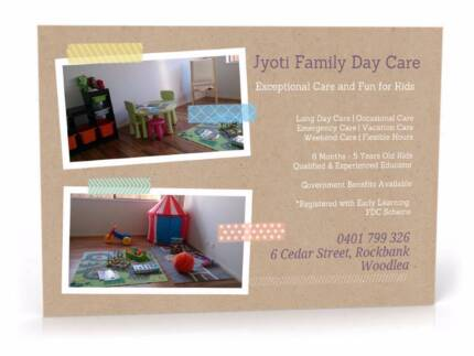 Jyoti Family Day Care-Woodlea (Melton,Thornhill park, Atherstone)