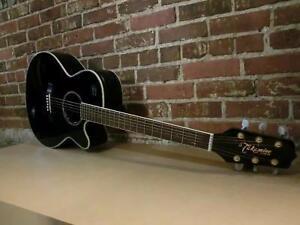 Guitare électro acoustique Takamine avec case rigide (i010904)