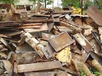 Scrap metal clean up for free Fredericton